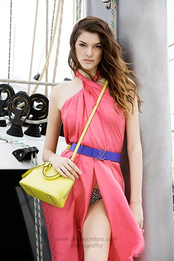 Photography by Jesus Cordero. Editorial for Louis Vuitton