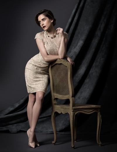 Photography by Jesus Cordero. Barbara Lenni - Maria Leon - Macarena Gomez