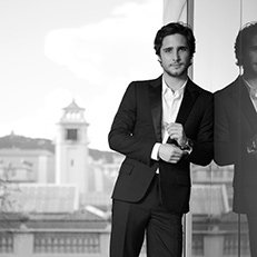 Photo by Jesus Cordero.With Diego Boneta