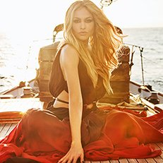 Photo by Jesus Cordero.With Paulina Rubio