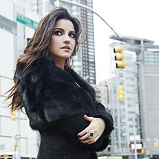 Photo by Jesus Cordero.With Maite Perroni