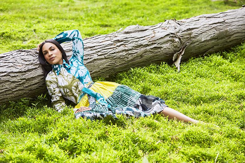 Photography by Jesus Cordero. Rosario Dawson