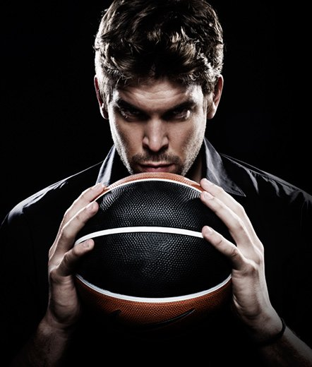 Photography by Jesus Cordero. Marc Gasol